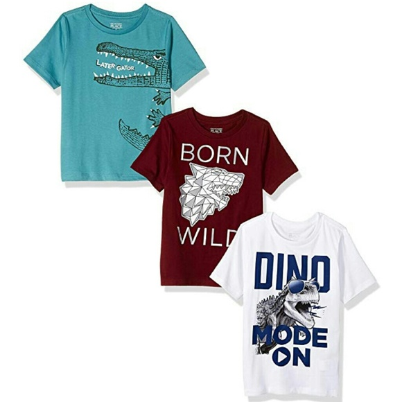 The Children's Place Other - LOT OF 3 Toddler Graphic Tees CUTE